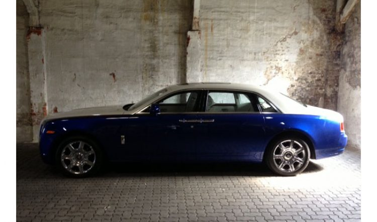 2013 Rolls Royce Ghost 6,6L V12 Pebble Beach Edition