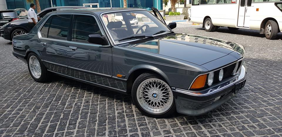 1986 BMW 745i ex. Dubai – ein richtiges Schmuckstück