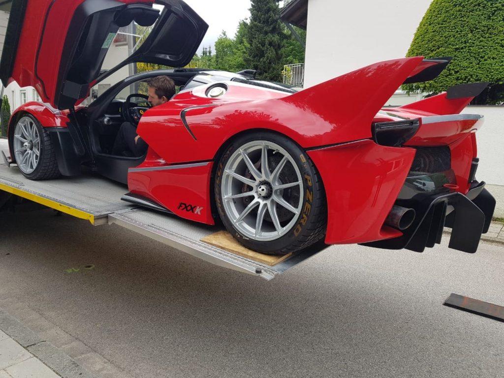 Door To Door Lösung Ferrari
