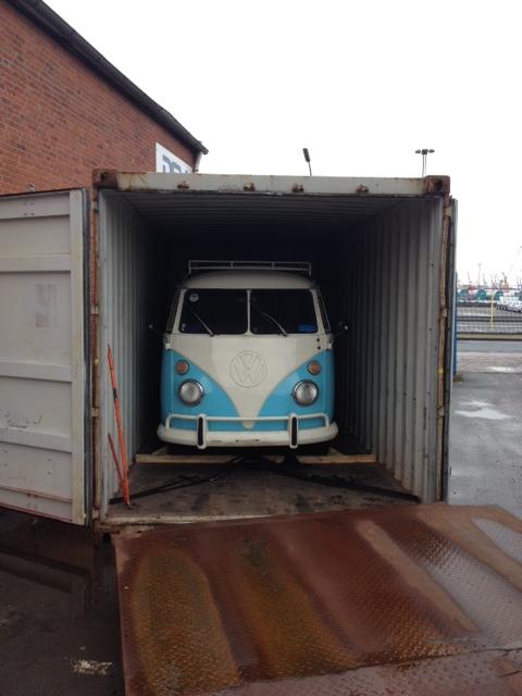 VW T1 Bus aus Brasilien